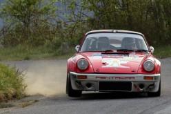 Da Zanche domina il Rally di Sanremo ma due forature lo mettono fuori