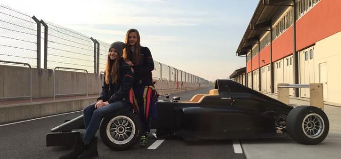 Italian F.4 Championship Powered by Abarth – Le due gemelle Pankiewicz pronte al via!