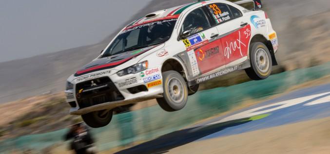 Max Rendina al via del 22° Rally Adriatico