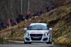 Suzuki Rally trophy al 62° Rally Sanremo: secondo atto
