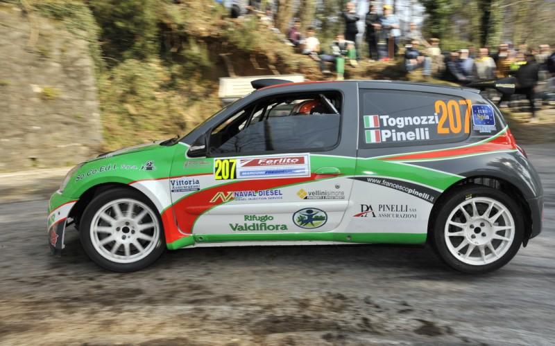 Tognozzi punta il Rally della Valdinievole