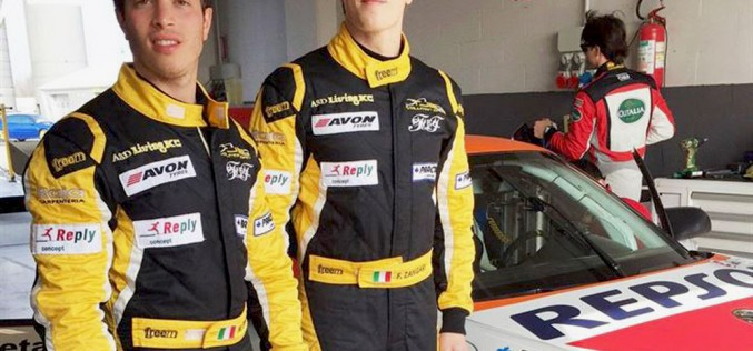 I fratelli Zangari al via del Campionato Italiano Gran Turismo con il Team Ghinzani Arco Motorsport