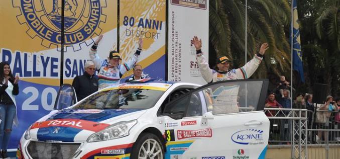 Peugeot e Andreucci dominano Sanremo