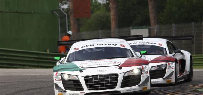 Pronta la corazzata Audi in vista della 13^ edizione del  Campionato Italiano Gran Turismo