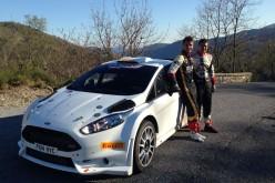 Test pre-gara per Sebastien Chardonnet. Pronto per il Rally di Sanremo