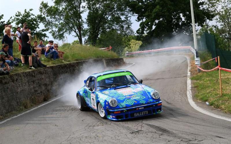 Squadra Corse Isola Vicentina all'assalto del Rally Campagnolo