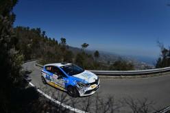 Successo per Rossetti-Chiarcossi nel 62° Rallye Sanremo fra le Clio R3t e per Panzani-Baldacci nel Trofeo Twingo R2