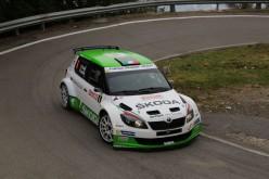 Rallye Sanremo. Skoda Fabia Super 2000 sempre competitiva