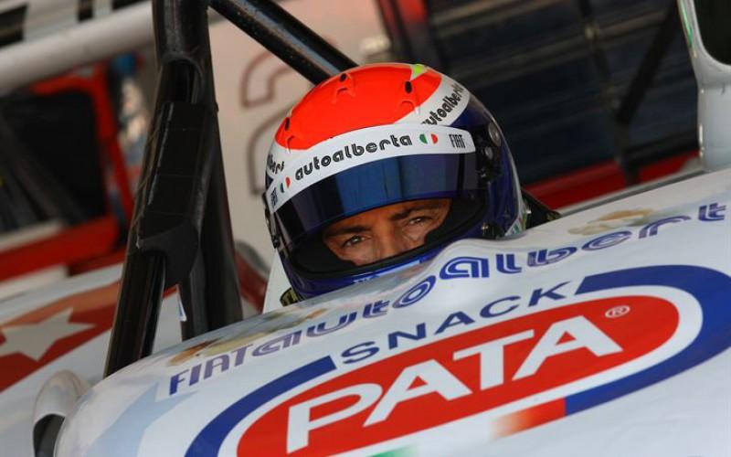Davide Uboldi pilota di Eurointernational nel Campionato Italiano Sport Prototipi
