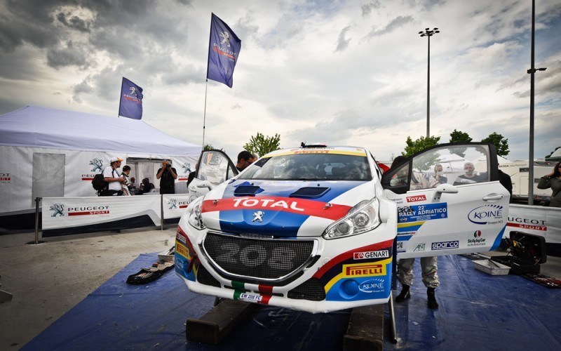 Peugeot Italia ed il suo equipaggio CIR di nuovo insieme alla Fondazione ANT