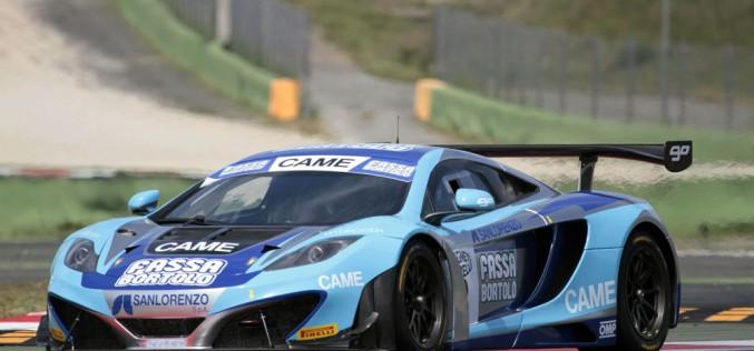 """A Vallelunga weekend di """"rodaggio"""" per le McLaren del Team Racing Studios nel Campionato Italiano Gran Turismo"""