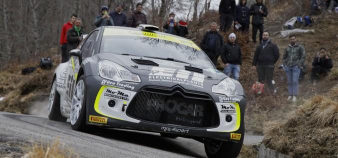 Procar Motorsport al Rally del Taro  con la Citroën DS3 R5