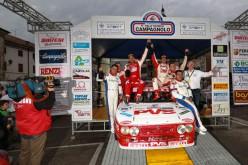 """Campionato Italiano Rally Auto Storiche """"Pedro"""" ed Emanuele Baldaccini vincono il Rally Storico Campagnolo"""