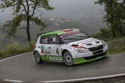 31° Rally Della Valdinievole: vittoria per Artino-Ghilardi su Skoda Fabia S2000