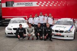 La Zerocinque Motorsport anche nella Divisione Super Production con Valli e Montalbano sulla BMW E90