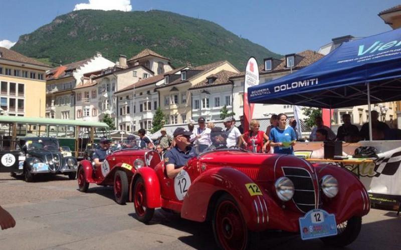 Sulle Dolomiti, tutto è pronto per la Mendola History e l'EcoRally della Mendola