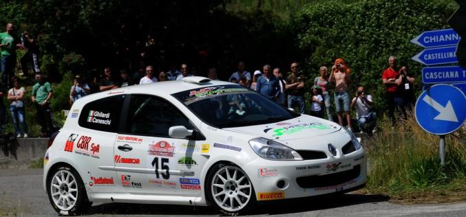 Titti Ghilardi nuova leader tra i copiloti del Trofeo Rally Automobile Club Lucca