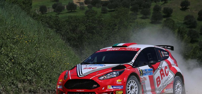 Basso e la BRC determinati al Rally Targa Florio