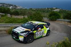Alessandro Bosca e Roberto Aresca, Citroen DS3 WRC, vincono il 48. Rally del Salento