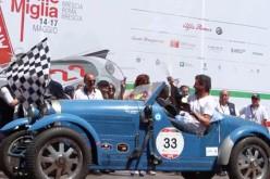 Mille Miglia 2015: vincono gli argentini Juan Tonconogy e Guillermo Berisso, su Bugatti T 40 del 1927