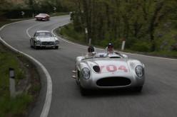 Stirling Moss e Hans Herrmann tornano sulle strade della Mille Miglia