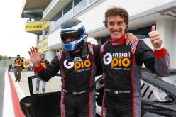 Luca e Nicola Pastorelli, una vittoria, un secondo posto e la leadership della classe GT Cup