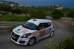 Marco Cappello e Simone Fabbian per la prima volta sul gradino più alto nella Suzuki Rally Cup