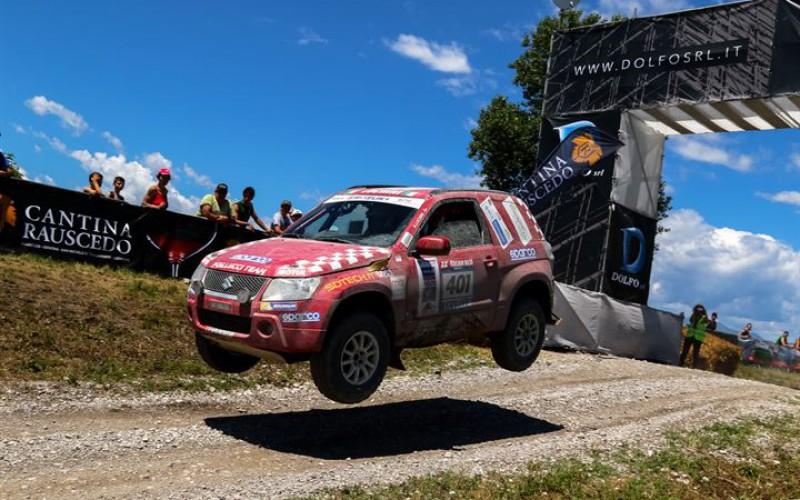 Suzuki, prima e seconda all'Italian Baja