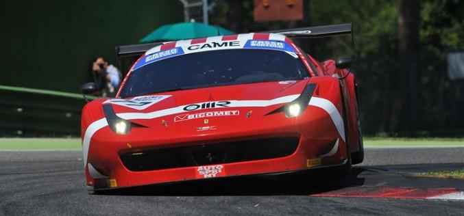 Imola, vittorie di  Lucchini-Venturi (GT3) e Zanardini-Perel (GT Cup)