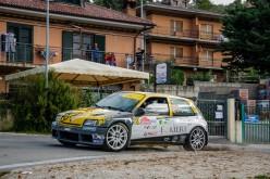 Emanuel Forieri al via del Rally Alta Val di Cecina