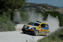 Luca Panzani al 33° Rally degli Abeti e dell''Abetone