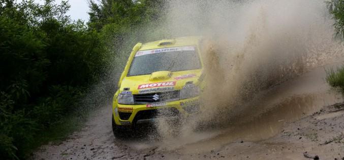 All'Italian Baja, Codecà e Fedullo portano alla vittoria la Suzuki Grand Vitara