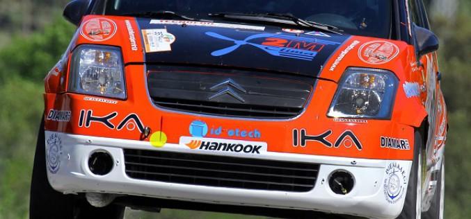 Max Giannini in evidenza al Rally alta Val di Cecina: 7° assoluto con la Citroën C2