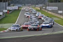 A Monza in gara-1 si impongono le Lamborghini Gallardo di Bortolotti-Viberti (GT3) e Durante-Comi (GT Cup)