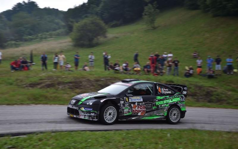 Michelin Rally Cup Paolo Porro si concede il bis al Rally della Marca