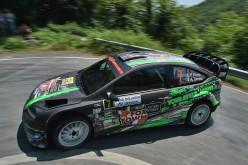 Paolo Porro e Anna Tomasi su Ford Focus Wrc vincono il 31° Rally della Lanterna