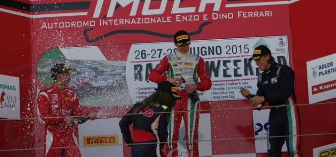Formula 4: Ralf Aron vince gara 3 e torna leader di campionato
