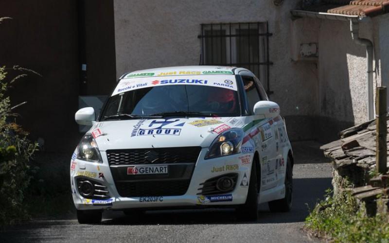 Suzuki Rally Cup, Al Rally della Lanterna vince Gianluca Saresera