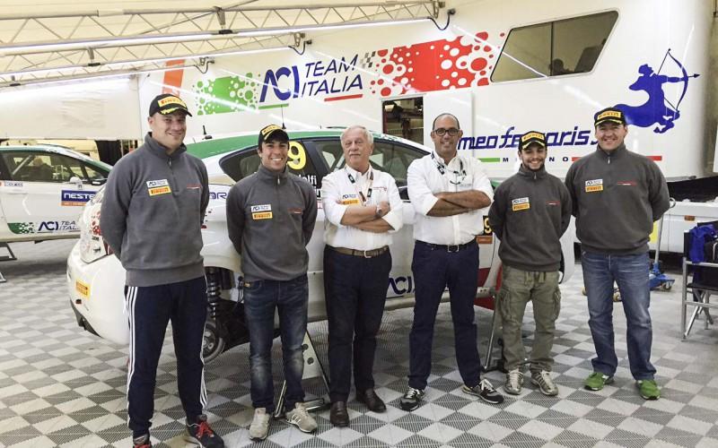 I piloti di ACI Team Italia, Fabio Andolfi e Damiano De Tommaso sono pronti al debutto in Finlandia
