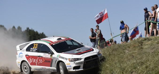 """Max Rendina al Rally of Poland: secondo di """"produzione, oltre la sfortuna"""