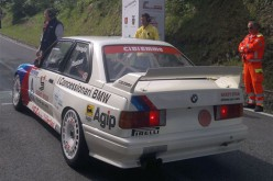 La BMW di Ravaglia apripista alla 43a Cronoscalata dello Spino