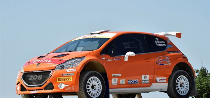 "Rally San Marino ""Orange Power"" per Andreucci e la Peugeot 208 T16 R5"