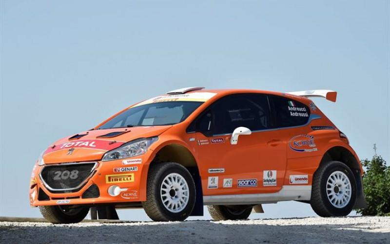 """Rally San Marino """"Orange Power"""" per Andreucci e la Peugeot 208 T16 R5"""