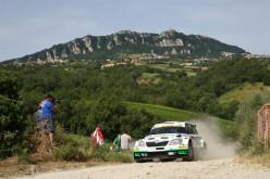 In Viale Ceccarini a Riccione la presentazione degli equipaggi del 43° San Marino Rally