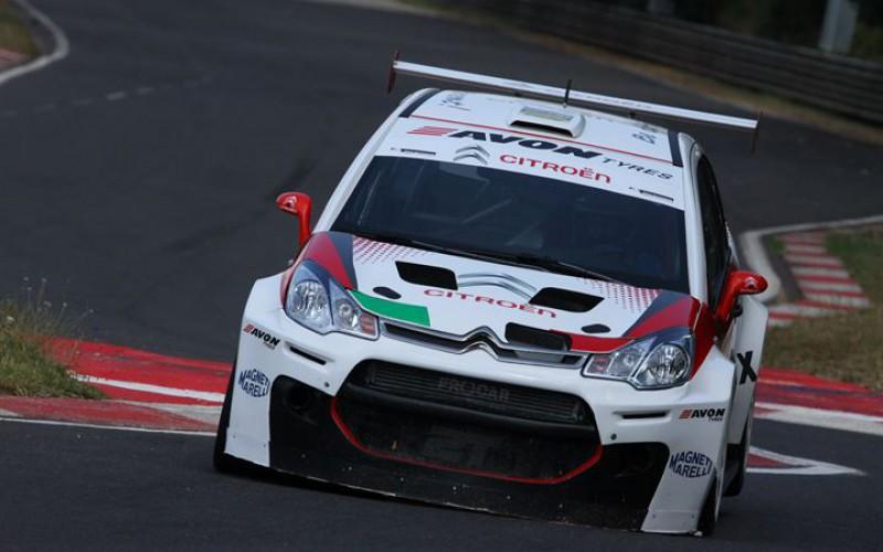 Davide Valsecchi, che bomba la Citroën C3 Max Turismo Endurance!