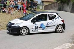 Armando al via del Rally di Bagnolo su Peugeot 207 R3T by SILFAS