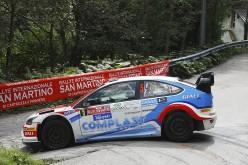 Marco Signor e Patrick Bernardi, Ford Focus Wrc, sono i vincitori del 35° Rallye San Martino di Castrozza e Primiero