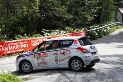 Suzuki Rally Cup: San Martino incorona Marco Cappello e Simone Fabbian