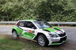 Vittoria di Umberto Scandola e Guido D'Amore su Skoda Fabia R5 al 3° Rally di Roma Capitale