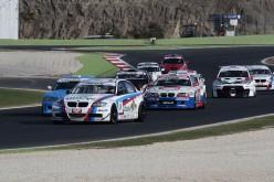 A Vallelunga vittoria per Valli-Montalbano (Bmw E90 3.2 Zerocinque) nella prima gara che completa in anticipo il quinto round del CITE